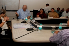 (from left to right) Dr Syeda S Hameed, Chairperson, Janab Safdar Husain Khan, Ms. Vandana Kumari Jena, IAS, etc